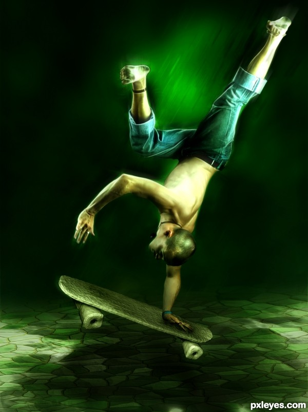 SkateStone  photoshop picture)