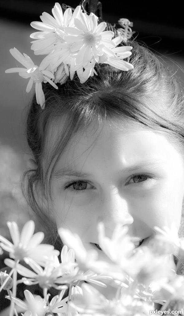 My flower girl