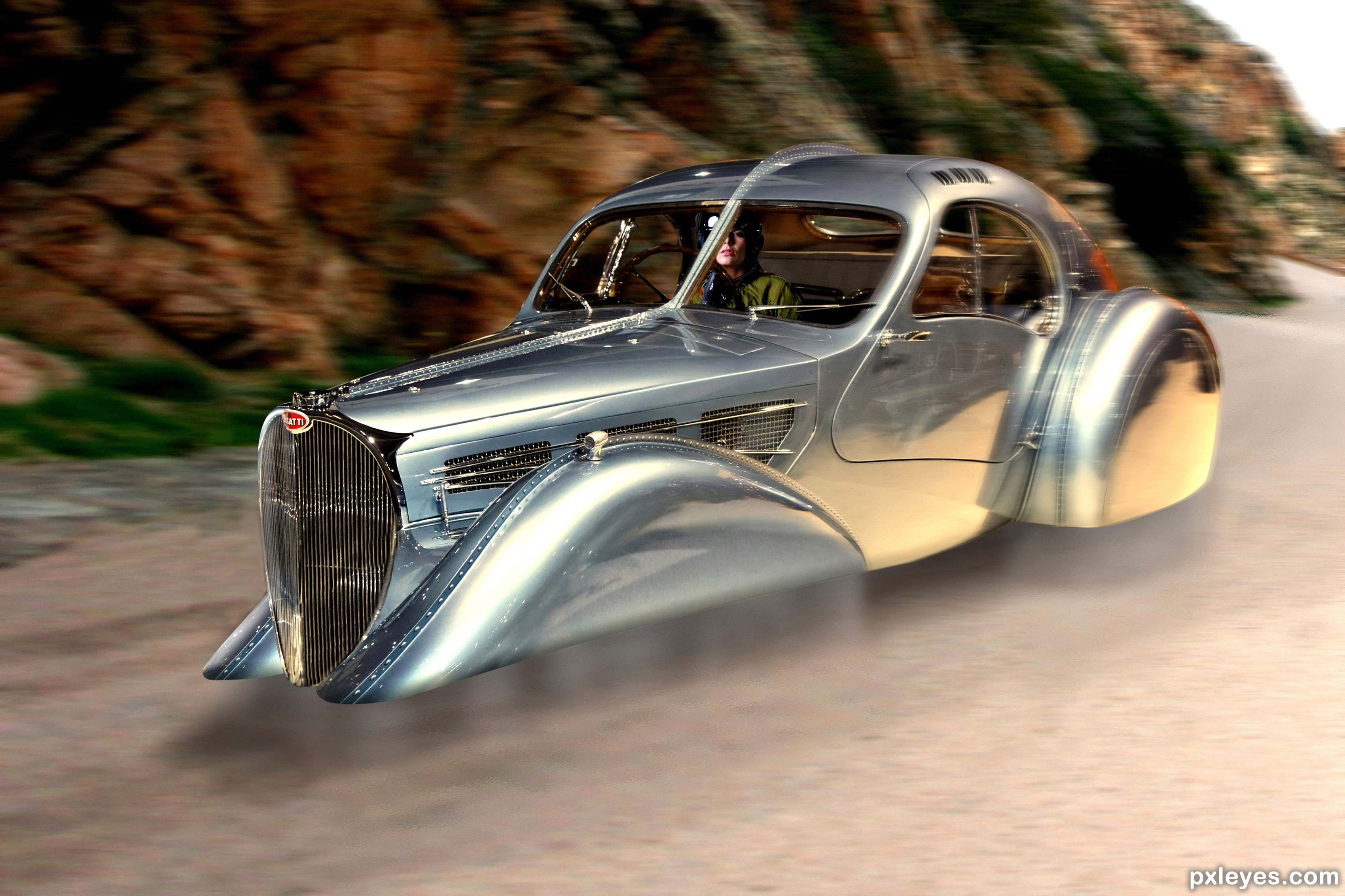Bugatti Picture By Derdevil For Flying Car Photoshop Contest