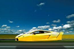 Low Flying Lamborghini
