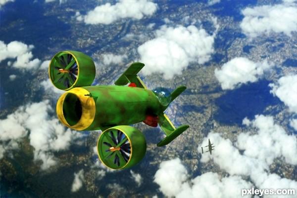 Creation of XP-56 VSTOL: Final Result