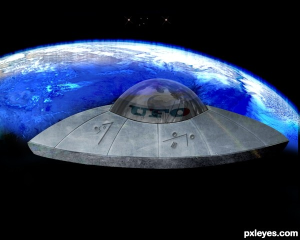 Creation of ufo: Final Result