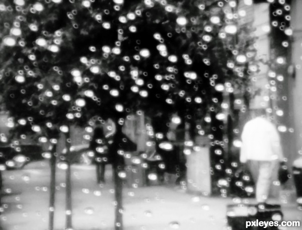 Rainy Day Bokeh New York