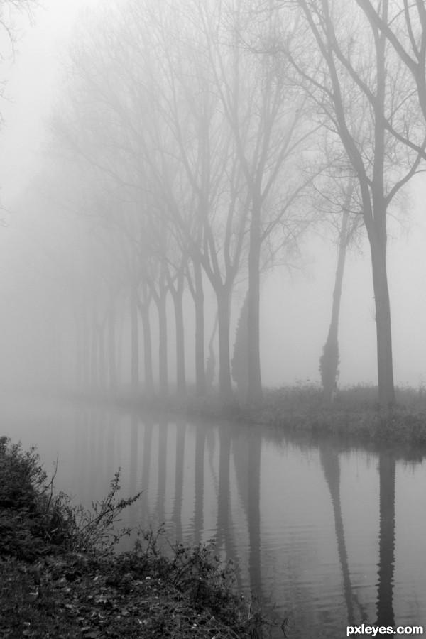 Foggy channel