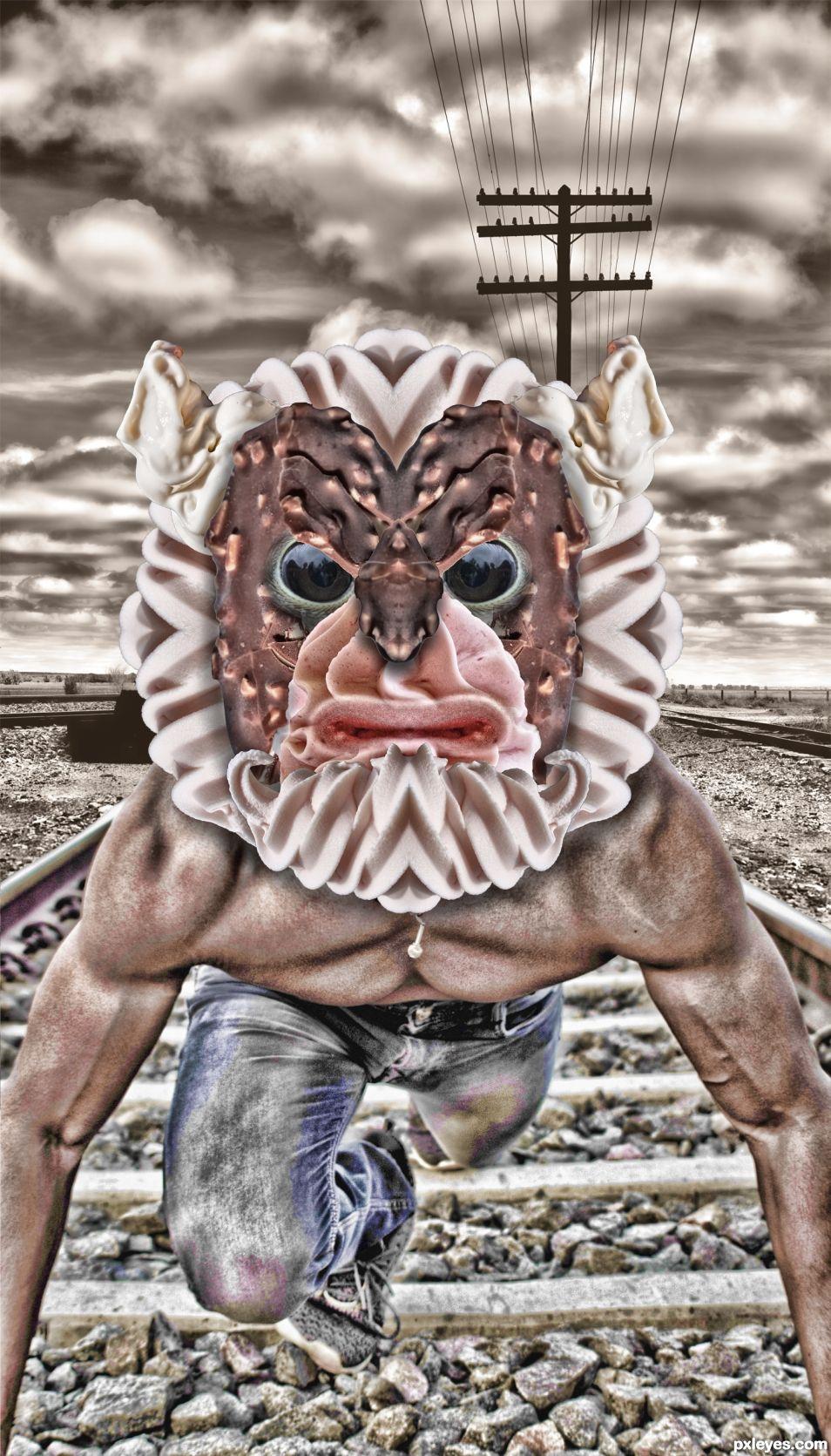 Creamy Lion Man