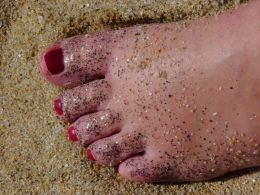 Free foot scrub