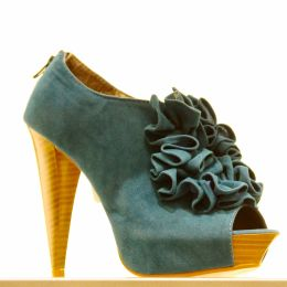 Blue Swede Shoe Picture
