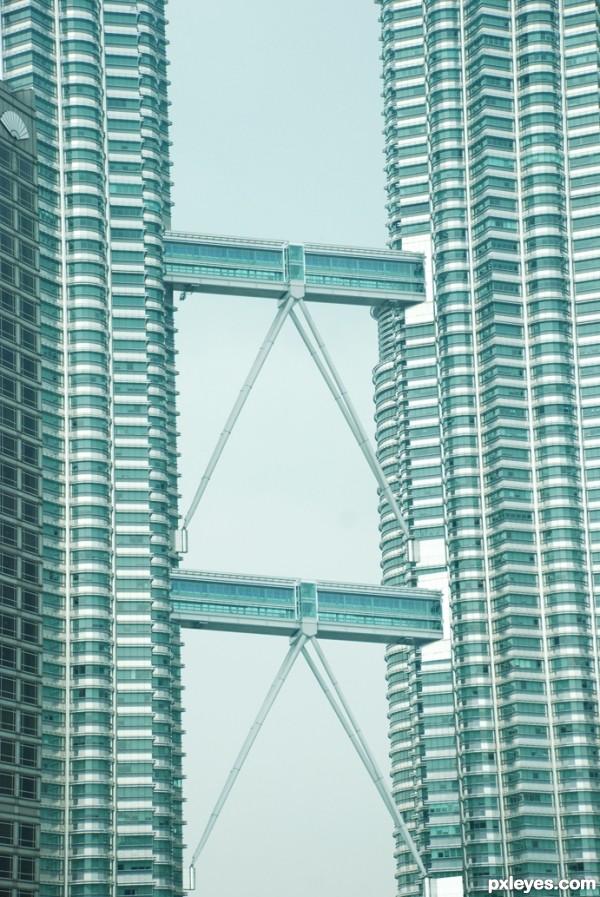 twin tower & twin bridge