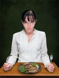 Hungry and angry