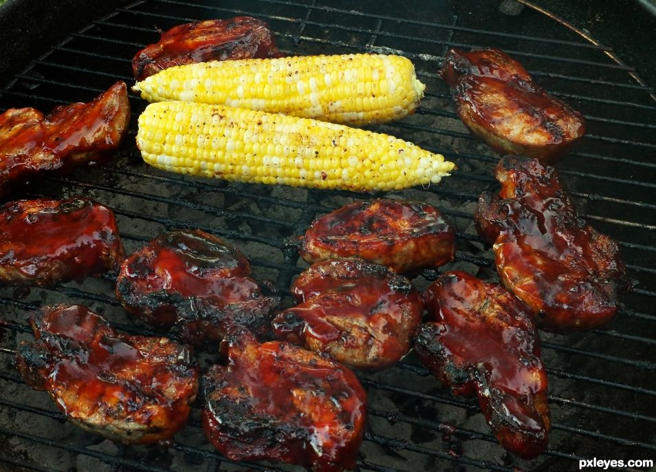 Ribs, or Corn, or Pork