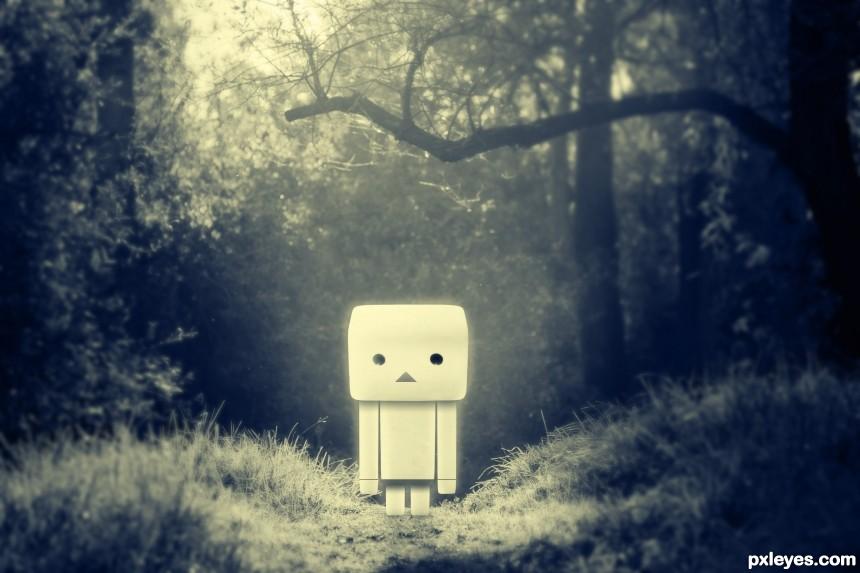 sad Danbo photoshop picture)