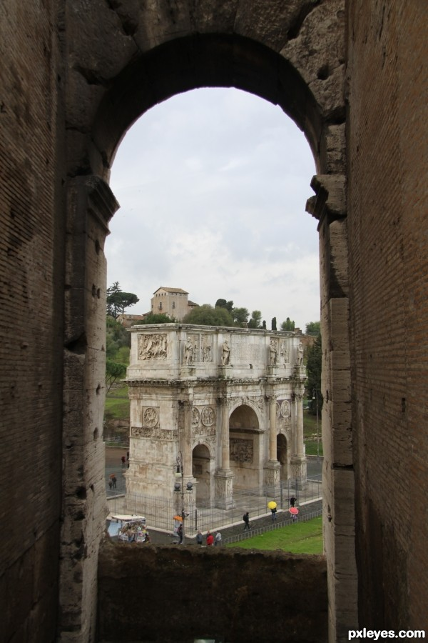 From the Coliseum