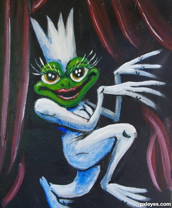 Lady Frog Ga