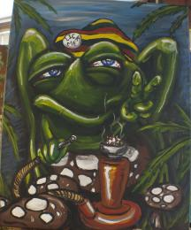 RastaFrogians for Toadal Peace Picture