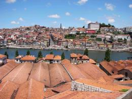 PORTO ROOFS FROM ABOVE