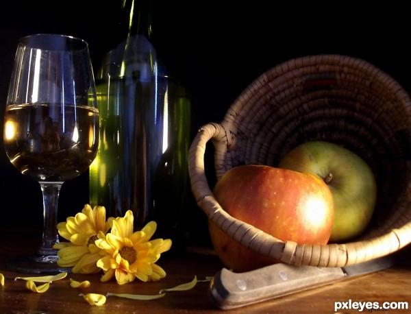 Apples n wine