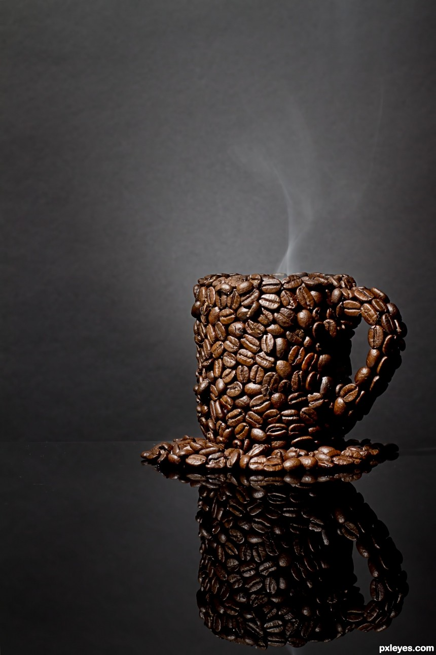 A cup of Coffee? photoshop picture)