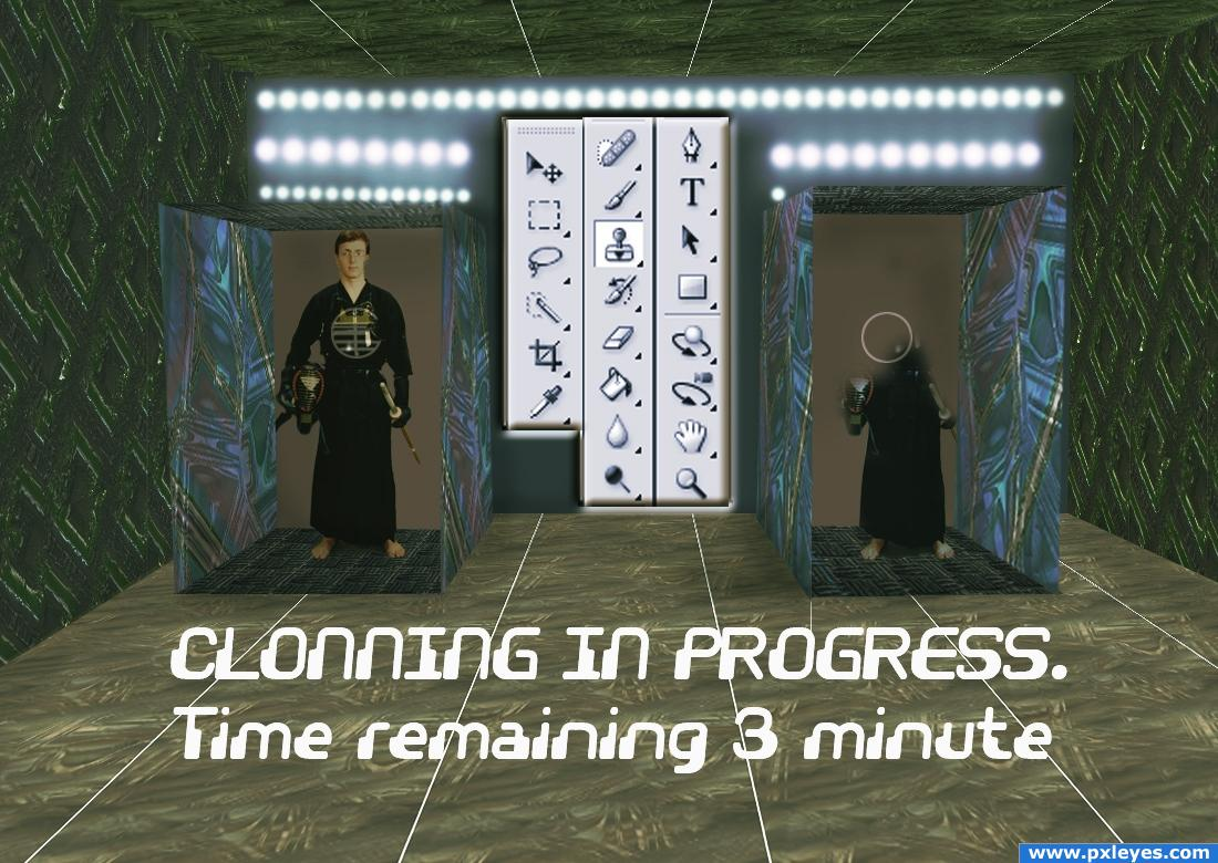 how to use a cloning machine