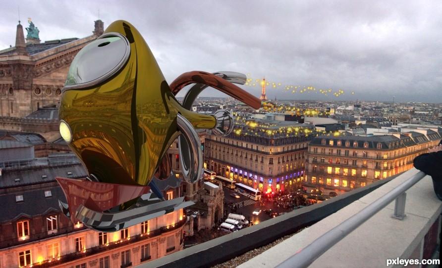 Roof of Paris
