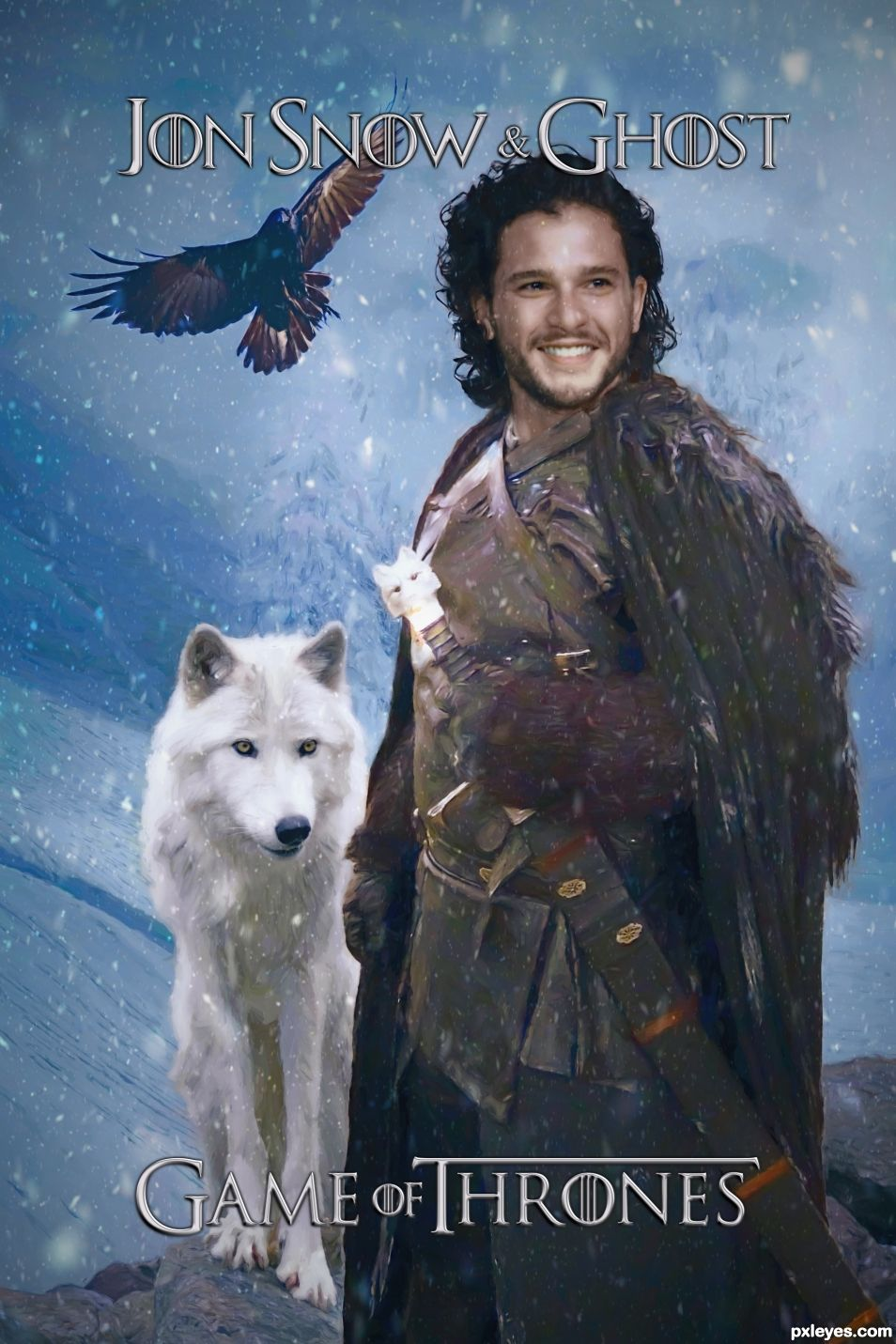 Jon with Ghost