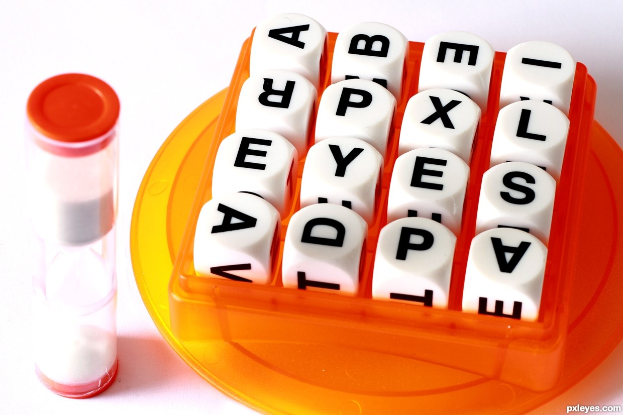 Image result for boggle clipart