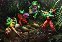 3 Froggies Went ACourtin