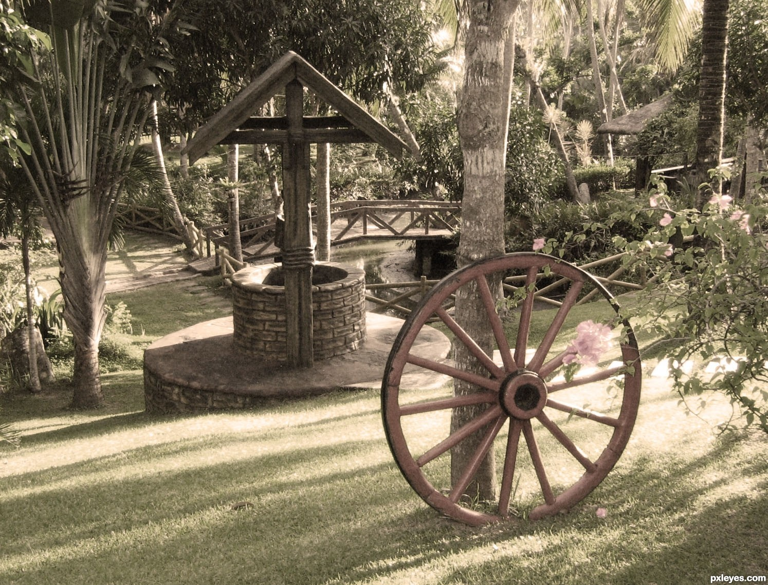 make a wish picture, by Karol for: garden ornaments photography ...