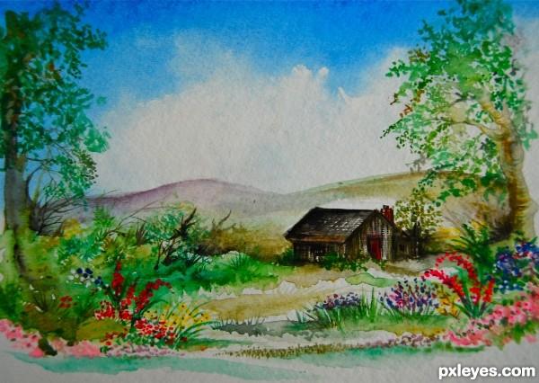 Garden Drawing