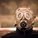 gas mask photoshop contest