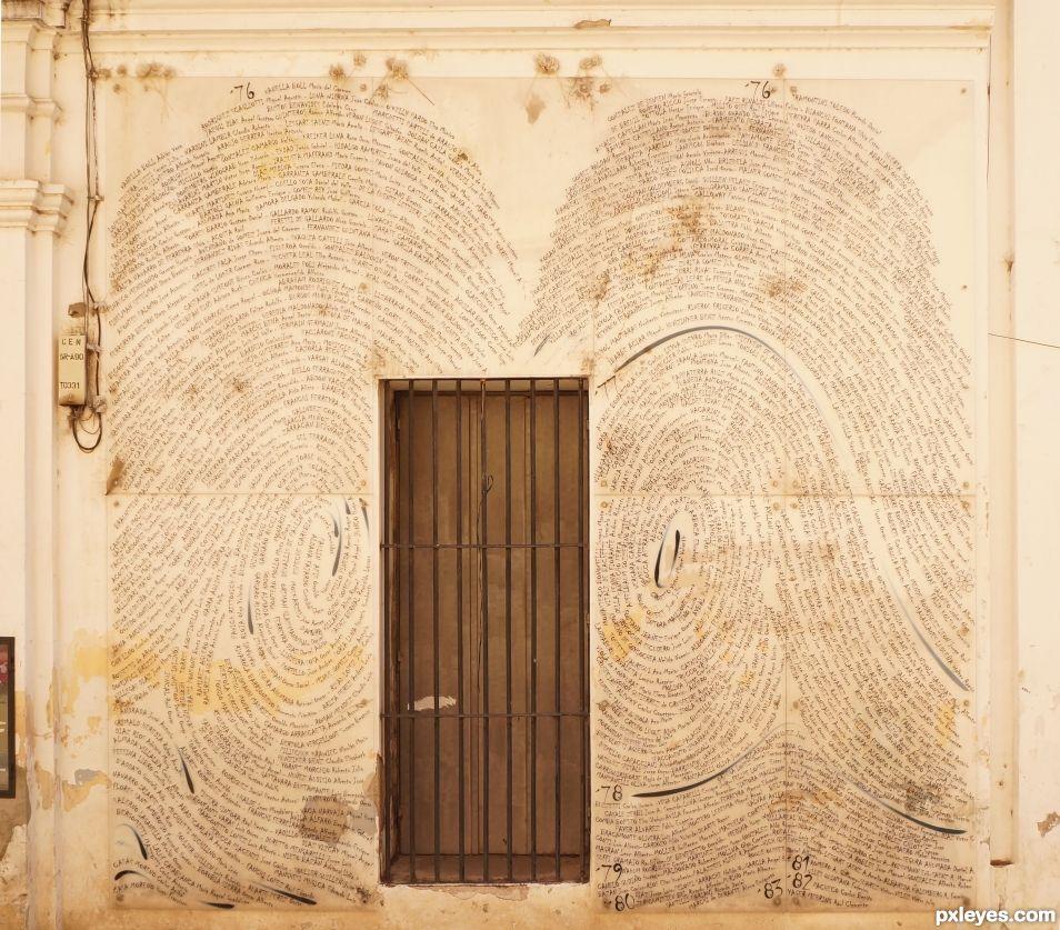 The fingerprints door