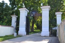 Main gate to the Park