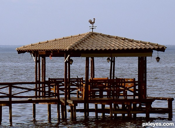 GAZEBO IN THE LAKE