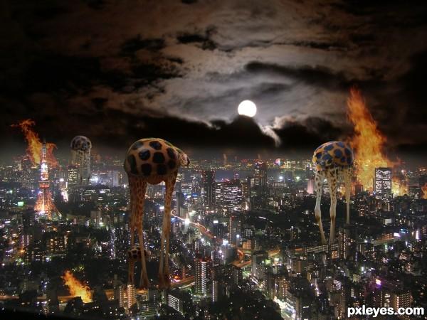 Midnight stroll in Tokyo