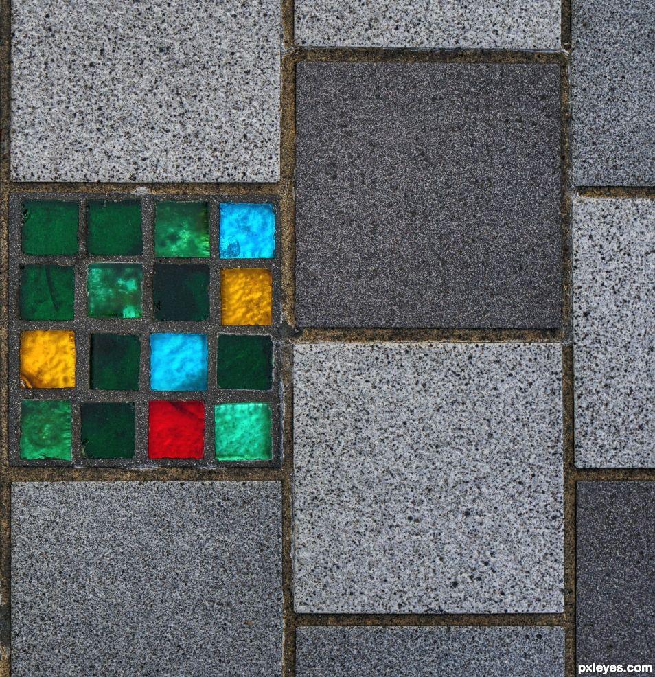 Glass Pavement