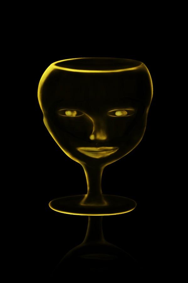 Glass Head Goblet