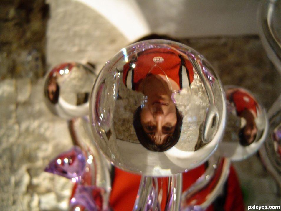 Overturning glass