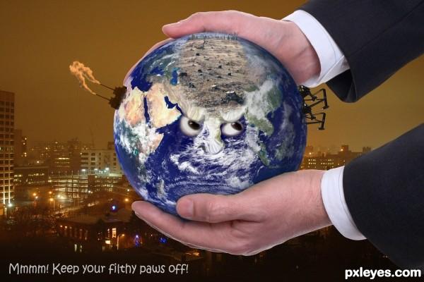 Deseased Globe