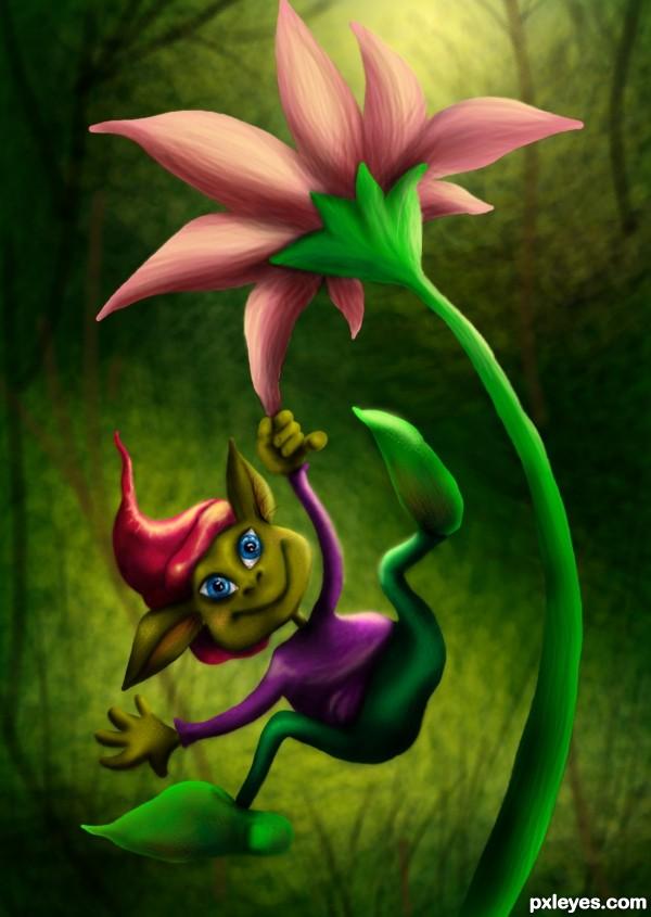 Flower gnome