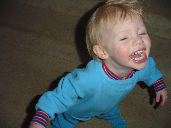 laugh of a child