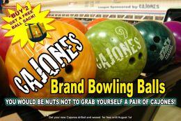 Cajones Bowling Balls