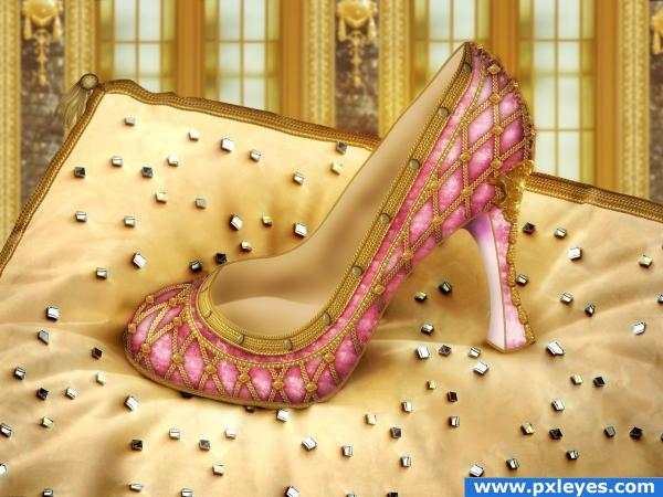 A shoe for a princess