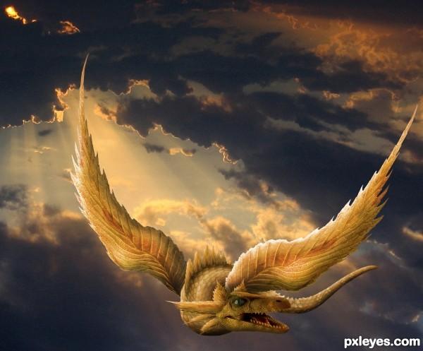 Golden dragon