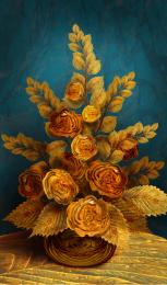 Antiqued Roses