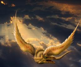 Golden dragon Picture