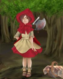 Bad Little Red Riding Hood Picture