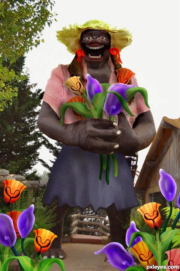 GIRilla Gardener