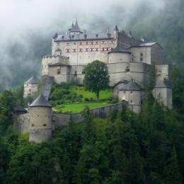 Hohenwerfen Castle, Austria Picture