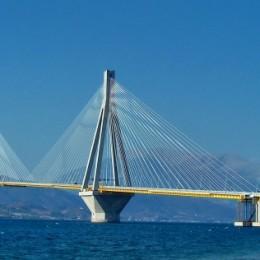 the unique bridge Rio Antirio