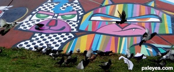 If I were not a graffiti ...
