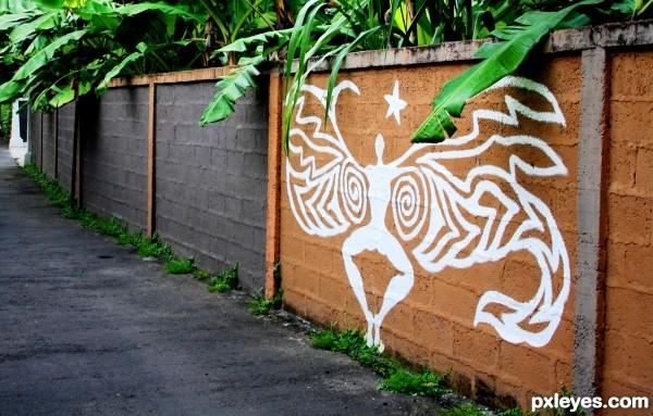 Balinese Graffiti
